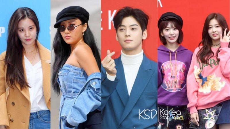「2019 S/S HERA首尔时装周」:徐玄、华莎、车银优、IZ*ONE成员都来看秀啦!