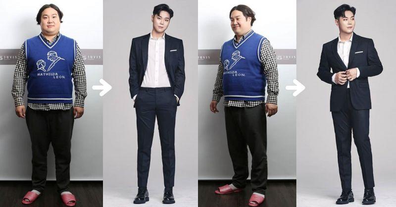 堪比換人! 歌手劉在煥暴減32kg前後對比照