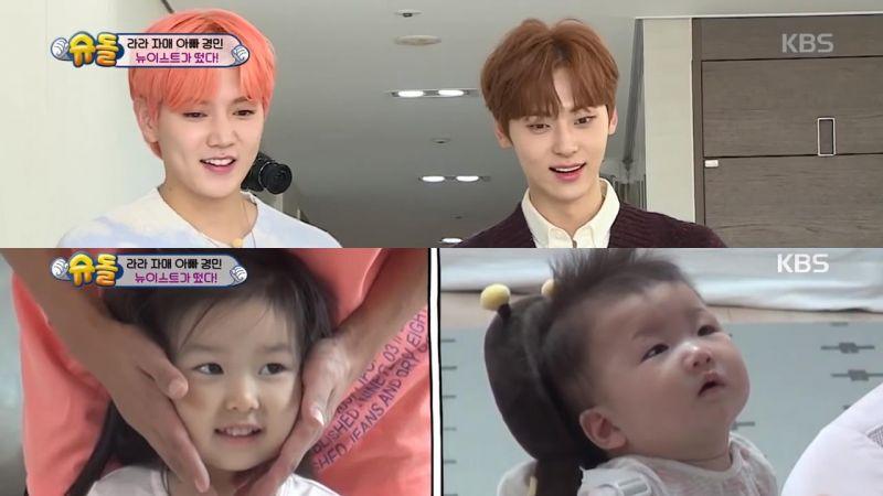 《超人回來了》NU'EST黃旼炫和Ren登場,極品美貌讓小孩子看傻了眼
