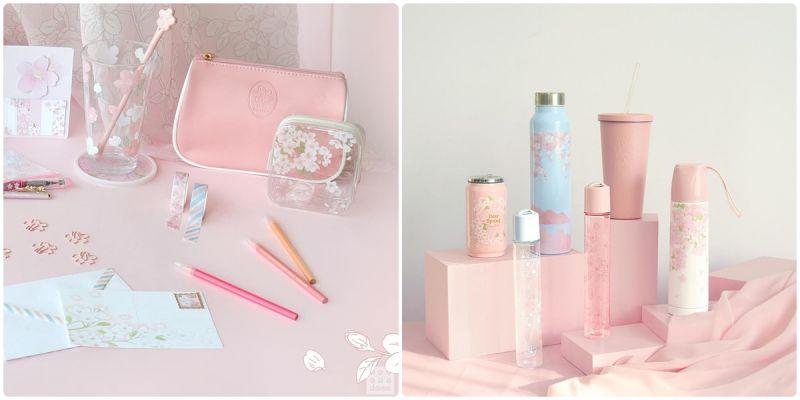 韓國大創《櫻花盛開》,推出多款櫻花季商品