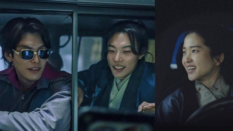 柳俊烈、金泰梨、金宇彬主演耗資500億的全新電影《外星+人》釋出首波劇照!