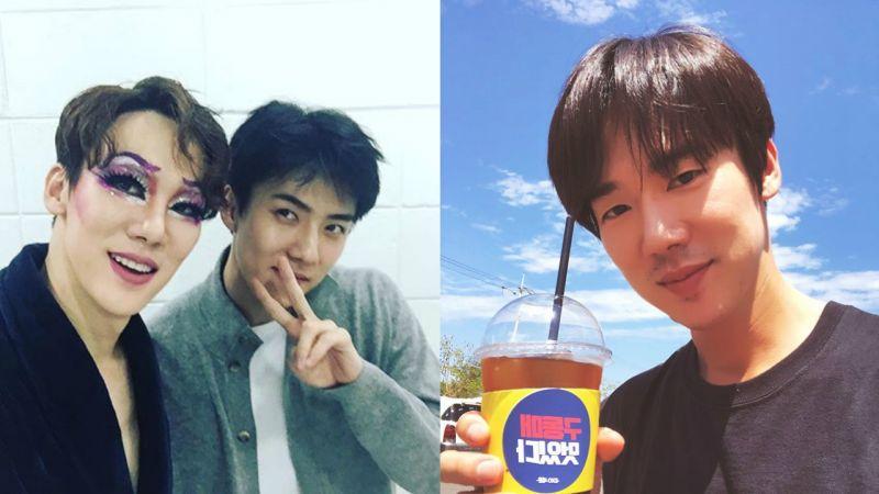 「具東魅好帥」EXO世勳給《陽光先生》柳演錫送上咖啡車,友情認證!