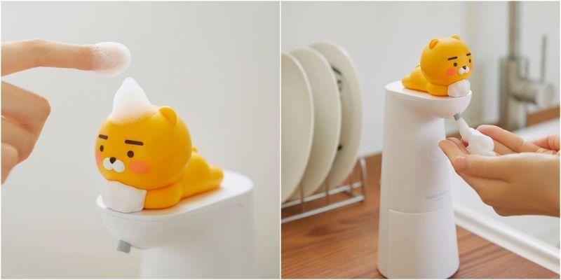 大家乖乖洗手!KAKAO FRIENDS推出超可愛的《Ryan自動給皂機》