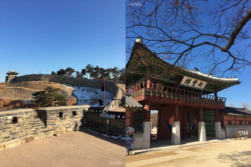 【拍照景點】首爾古城去膩了嗎?來近郊水原華城走走吧 ;)