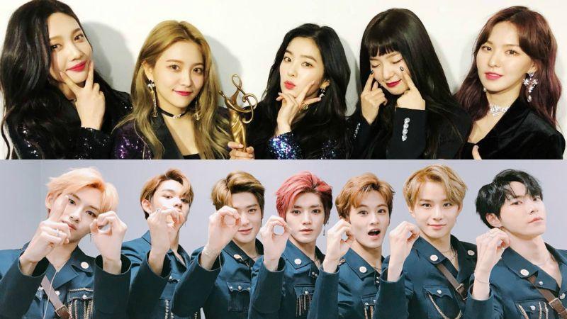 超大户外看板同步直播 Red Velvet、NCT U 周末接力登《Music Gft Box》!