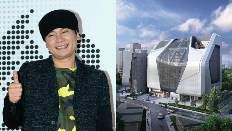 梁鉉錫再次公開YG新大樓設計圖!有你貢獻的一塊磚嗎?