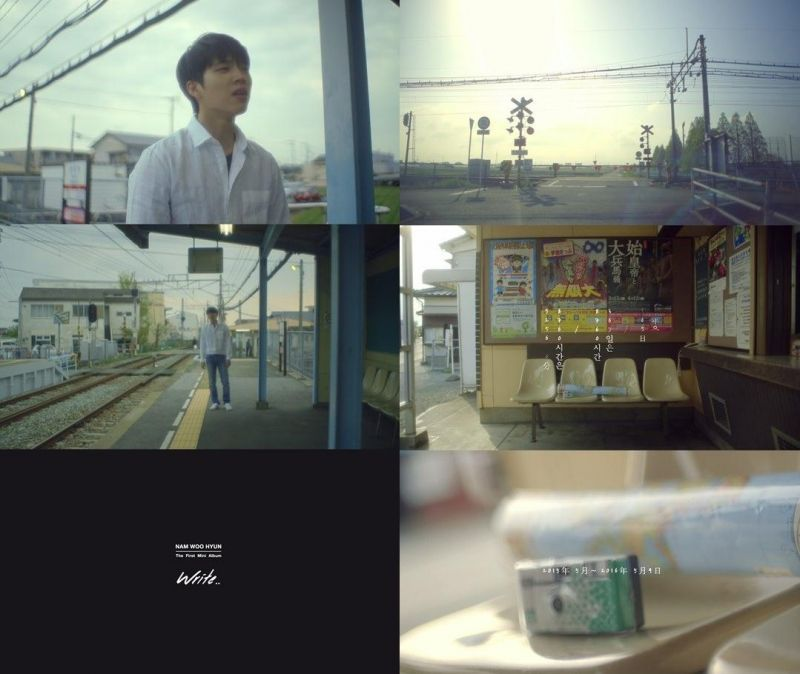 INFINITE南優鉉SOLO出道 公開感性宣傳照