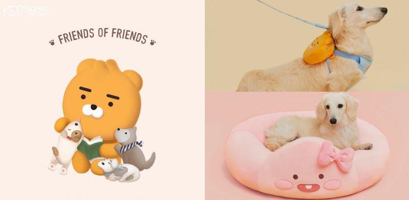 Kakao Friends不只「收买人心」...还要「收服」你家的毛孩!