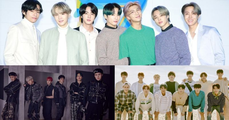 【男团品牌评价】BTS防弹少年团蝉联冠军 26 个月 EXO、SEVENTEEN 夺二、三名