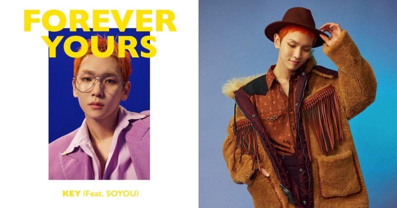 SHINee Key 新歌〈Forever Yours〉海外人氣高 首週打歌行程出爐!