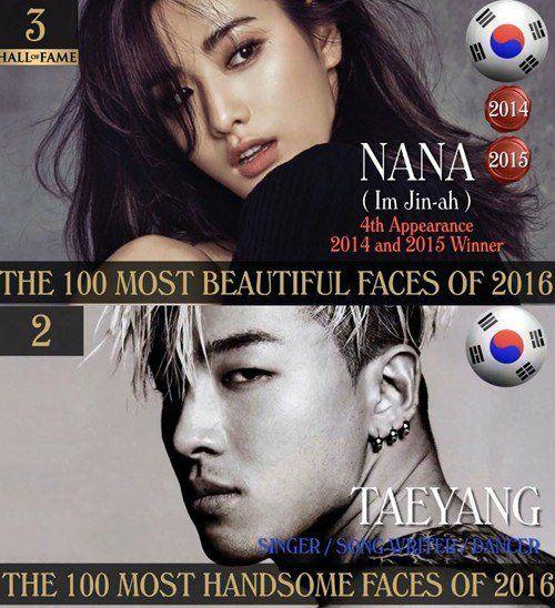 NANA成全球第三美 你们猜全球第二帅是谁?
