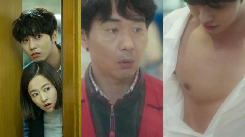 新剧《深渊》安孝燮第一集就被撕碎衬衫大秀胸肌,连男人也看傻了眼啊~!