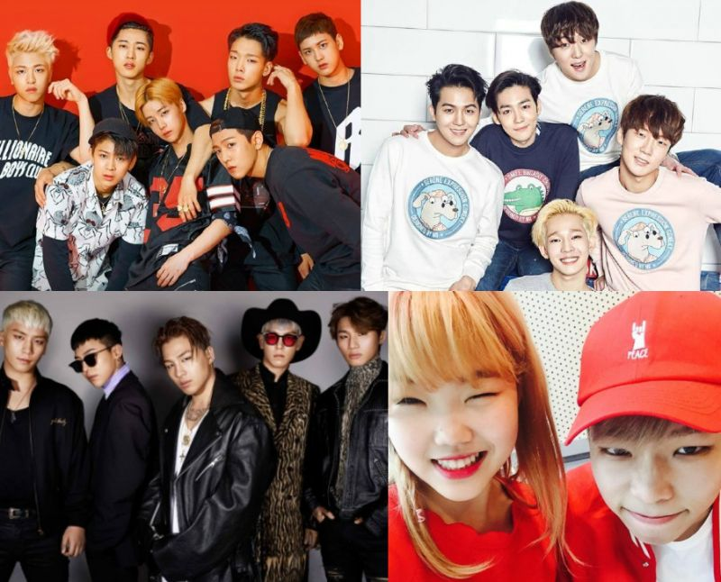 YG下半年冷冻库大开 不间断的回归和新歌来袭