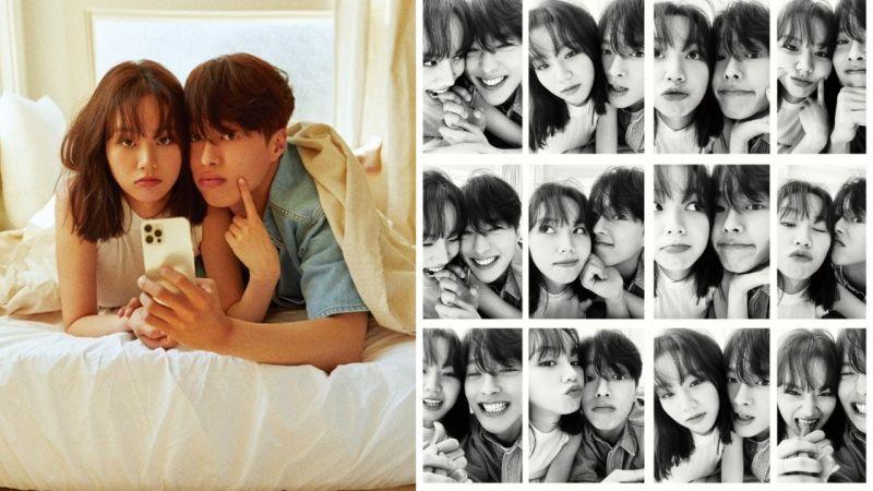 張基龍、惠利為宣傳新劇 《心驚膽顫的同居》拍攝情侶畫報!真的好甜~好浪漫,滿滿的CP感 ♥