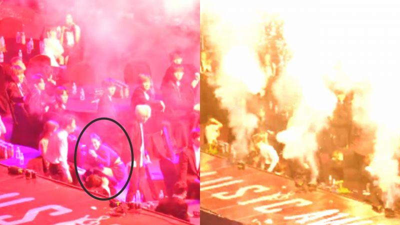 《首尔歌谣大赏》这是「恐怖袭击」吗?舞台焰火太猛,爱豆们被吓得抱头!