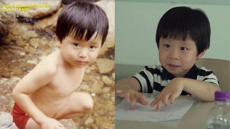 曹政奭小時候和「兒子」羽朱的對比圖!網友:「越看越像,導演選角真的太厲害了!」