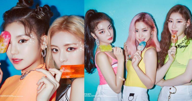 ITZY 公开新专辑曲目表 朴轸永参与创作最新主打歌!