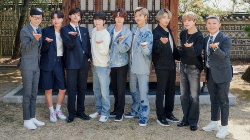 这就是世界弹的威力!BTS防弹少年团出演《刘Quiz》让节目话题性增加超过103%!
