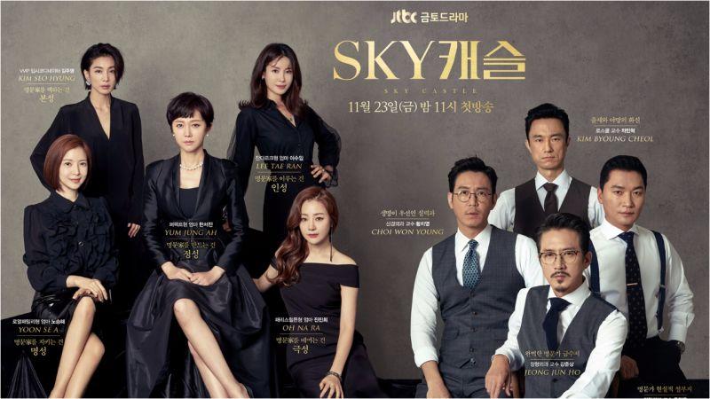 越來越成功的韓劇反向輸出!《SKY Castle》確定被美國NBC翻拍!