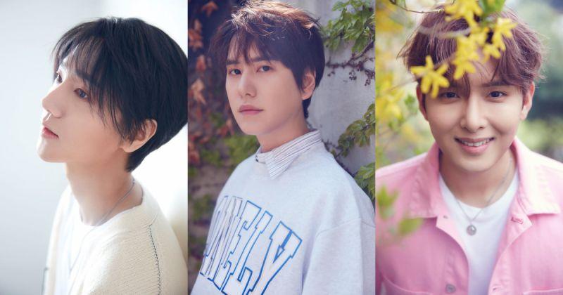 Super Junior-K.R.Y 個人概念照到齊 週日搶先表演新歌!