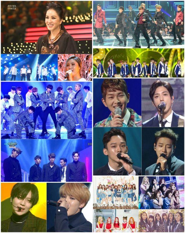 「2016 KBS歌谣大祝祭」特别合作舞台名单整理  你最期待谁?