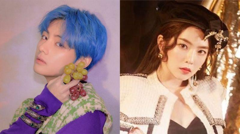 BTS防彈少年團V & Red Velvet Irene出現在漫威封面上?網友:不愧是漫撕男、漫撕女!