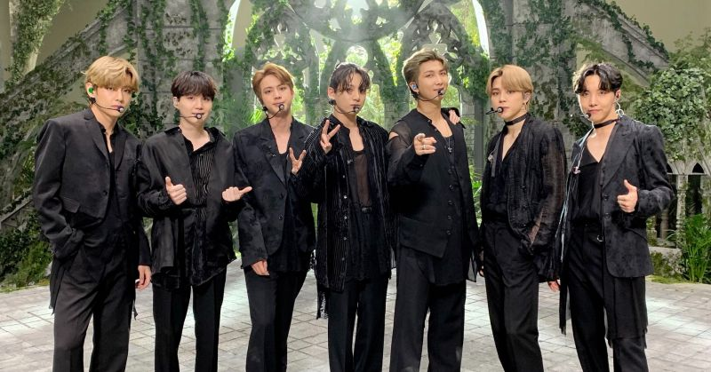 BTS防弹少年团蝉联《Music Bank》五周冠军!在告示牌单曲榜上依然名列前茅