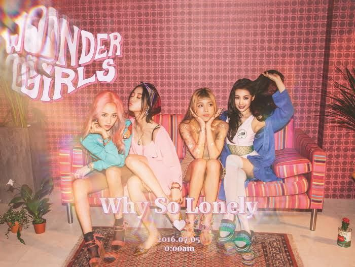 Wonder Girls新歌《Why So Lonely》音源&MV公开 横扫榜单