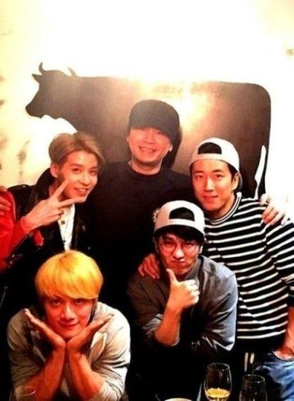 元祖偶像水晶男孩簽約YG 時隔16年實現回歸夢
