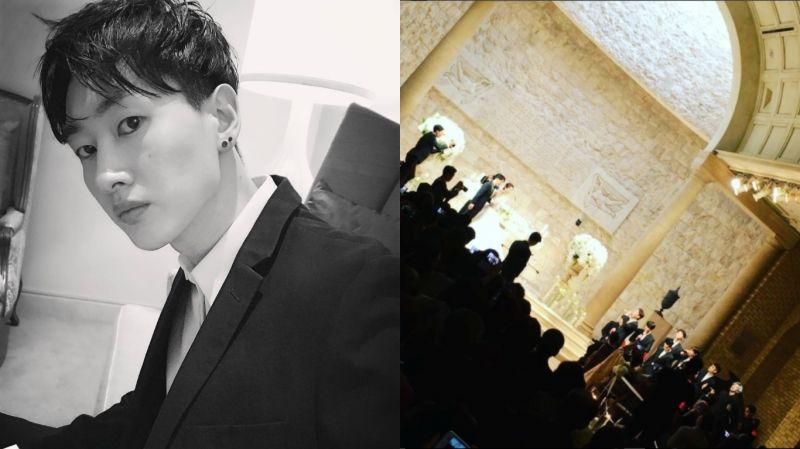 好幸福的新人啊~SJ銀赫當婚禮主持人 EXO獻唱祝歌《HEAVEN》!
