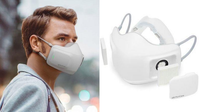 LG推出電子口罩好評獲,韓國人卻只能繞道從海外購買