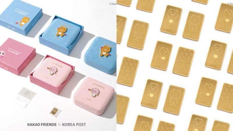 Kakao Friends这次的周边太土豪了!竟然推出纯金卡,集齐12款需要多少钱?