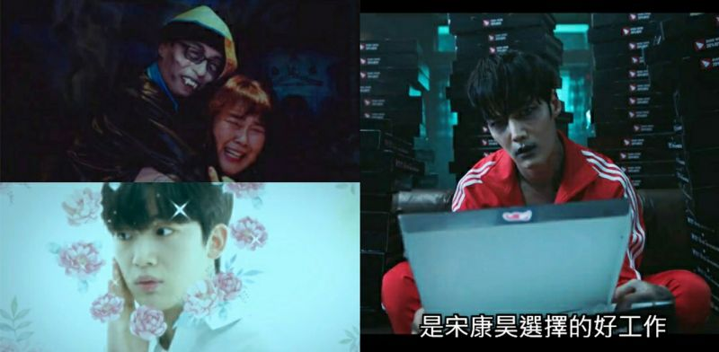 《丧尸侦探》首播好欢乐~XD 刘在锡&金曜汉等人客串,还致敬《寄生上流》《皇后的品格》