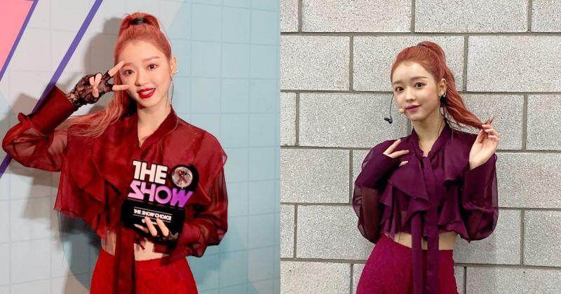 Oh My Girl YooA 迅速拿下音樂節目首冠!感動落淚「謝謝 Oh My Girl 和 Miracle」