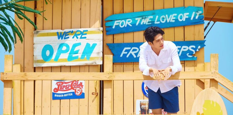 邕圣佑发布新曲《Heart Sign》 清凉律动充满夏日气息