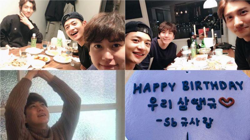 Super Junior圭賢與「圭LINE」東方神起昌珉、SHINee珉豪過生日!「5月快來啊~」