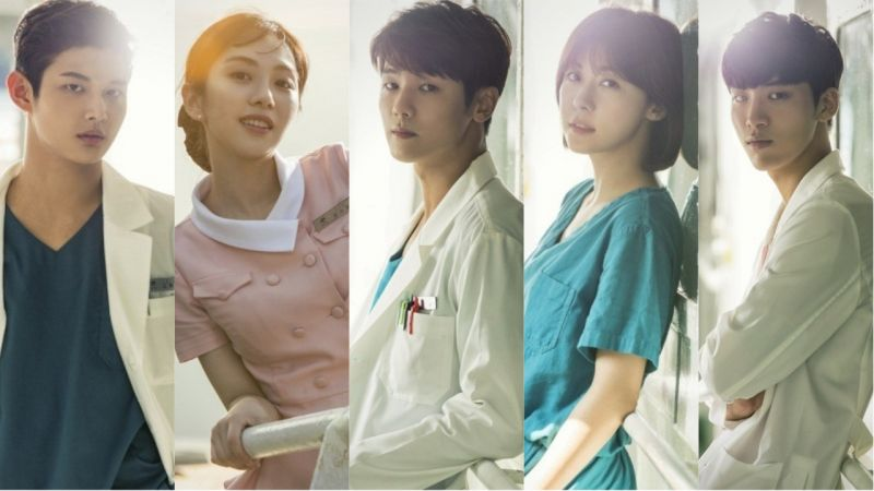 《医疗船》主角角色海报公开!新颖的主题与充满温情的故事!你期待这一部吗?