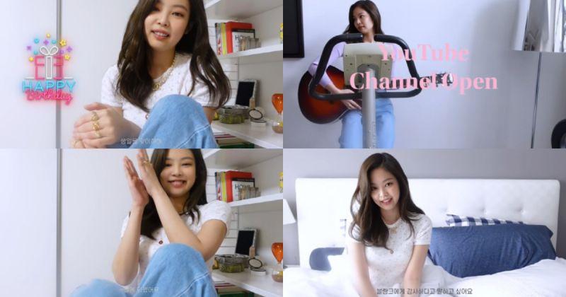 最強 YouTuber!Jennie 個人頻道一天內吸引逾 185 萬人訂閱