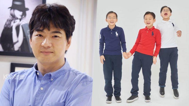 「爸爸185cm、媽媽172cm」宋家三胞胎才國小2年級就長到142cm了!
