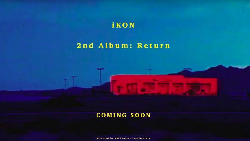 iKON 驚喜突襲!公開導演版回歸前導預告 迷幻復古令人著迷