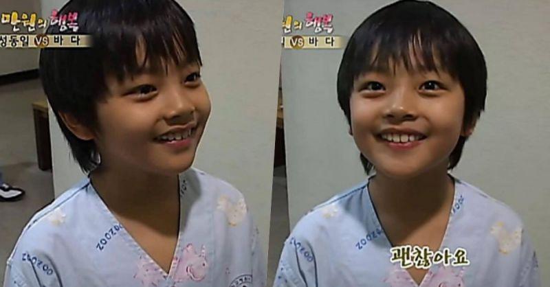 是天使吗?吕珍九9岁出演《万元的幸福》:亮晶晶大眼+婴儿肥超可爱!
