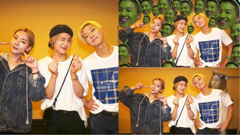 WINNER姜昇潤請粉絲把宋旻浩P圖到合照裡!粉絲超有才,有趣、搞怪照都出現啦!