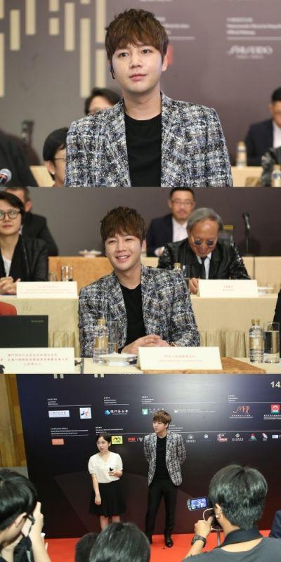 演員張根碩當選第1屆澳門國際電影節宣傳大使