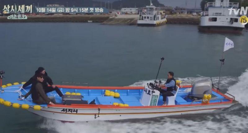 《一日三餐》漁村篇3即將開播 瑞Genie號首航預告曝光