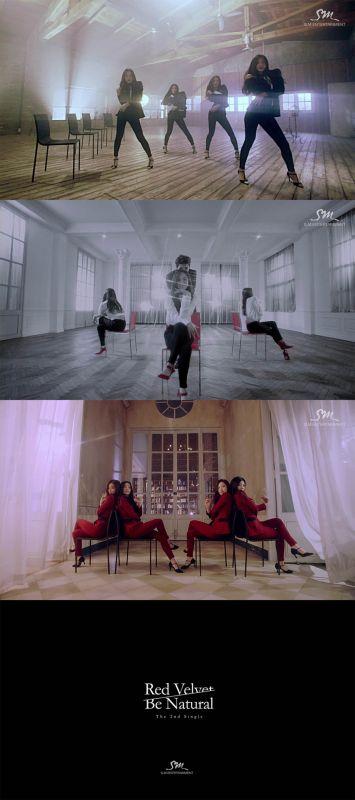 Red Velvet曝新曲《Be Natural》MV 椅子舞嬌媚
