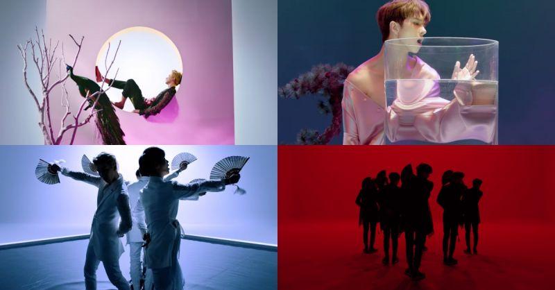 VIXX新歌《桃源境》MV发布 满满东洋奇幻色彩