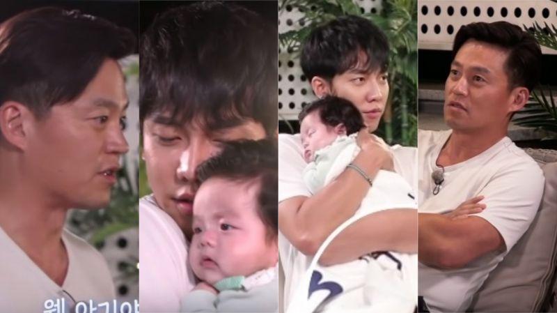 【有片】李昇基變身為「奶爸」!向李瑞鎮求救:「胳膊太疼了…幫我抱一下吧」 哥哥秒回:「你自己抱」