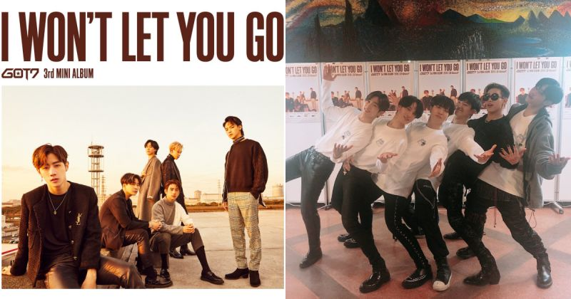GOT7 全新日語專輯〈I Won't Let You Go〉尚未發行 就先拿下當地排行榜冠軍!