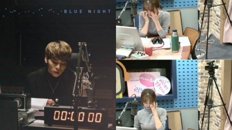 朴素贤广播生放送读观众悼念钟铉的讯息   难掩悲痛哽咽流泪