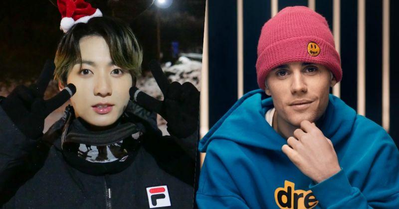 BTS防彈少年團田柾國和Justin Bieber的友情認證!